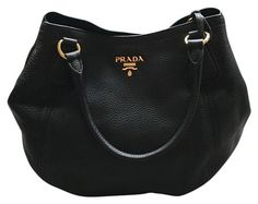 Prada Nwot B2343m Daino Convertible Satchel Nero Black Shoulder Bag 20% off  retail 965a075d6c233
