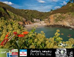 Petit Bôt Bay looking glorious in the October sunshine #LoveGuernsey  http://chrisgeorgephotography.dphoto.com/#/album/cbc2cr/photo/19053963  Perrys Guide Ref: Page 29 F4 Picture Ref: 12_10_13 — in Guernsey.