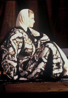 MISSONI - Fall 1986 , photo by Giovanni Gastel