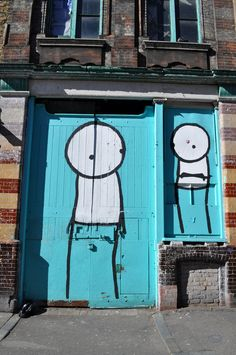 Stik somewhere in London (Image © Street Art London)