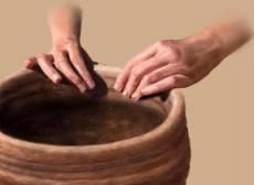 Humans began making pottery for storage purposes