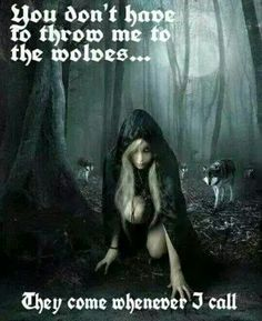 Throw me to the wolves http://morteque.deviantart.com/art/Awaiting-the-Night-122681036                                                                                                                                                      More