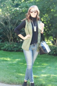 jillgg's good life (for less) | a style blog: my everyday style: vested interest!