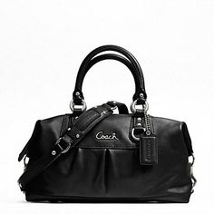 ASHLEY LEATHER SATCHEL    This is my baby!