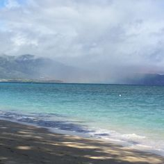 My favorite Beach here on Maui. Can you see the rainbow out there? A perfect place to go for a walk and a swim to cool off on those hot summer days.  You will find those beautiful ocean colors and rainbow colors in many of my bracelets.