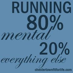 Running is a mental sport Chestertown Fit for LifeChestertown Fit for Life Running Day, Keep Running, Running Workouts, Running Tips, Marathon Motivation, Running Motivation, Fitness Motivation, Track Quotes, Running Quotes
