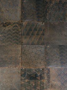 Trend Report 2019: Interior Design Trends to Watch - Western Living Magazine 'Oxidart' tiles from Ceramica Sant'agostino, (fontile.com)