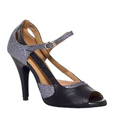f196366bae7 Minitoo Womens Mary Jane Style Gray Satin Wedding Ballroom Latin Taogo Dance  Sandals 95 M US    Learn more by visiting the image link.