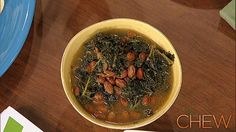Mark Bittman's Greens and Beans Soup #TheChew
