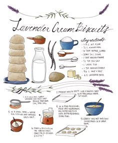 illustrated recipes - kayla king | artist. illustrator. creative force.