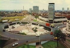 Birmingham Five Ways roundabout (late City Of Birmingham, Birmingham England, Council Estate, Sutton Coldfield, Walsall, 2nd City, Sense Of Place, Wolverhampton, West Midlands