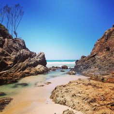 Byron Bay, New South Wales, Australia Byron Bay Beach, Australia Wallpaper, Beach Rocks, Great Barrier Reef, Adventure Is Out There, Australia Travel, Travel Inspiration, Travel Destinations, Surfing