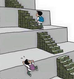 A sociedade em que vivemos está cada vez pior, estas ilustrações mostram o quão ruim está - Bastante Interessante