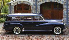 1956 Mercedes Benz 300 C Sedan with Wagon Coach Work by Binz & Co.
