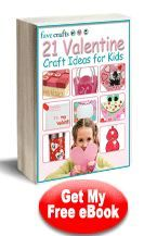 Get a free Valentine Craft ebook!! There are some wonderfulideas!!