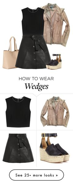 """""""casual office"""" by bodangela on Polyvore featuring Roberto Cavalli, Old Navy, Maje, Alice + Olivia, Chloé, office and casualoutfit"""