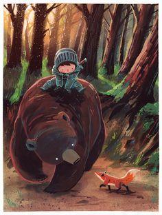 Ciaran Duffy tags : character illustration art