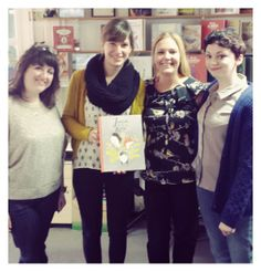 What a treat it was to meet Isabelle Arsenault, the illustrator of Jane, the Fox & me - she is an UBER talent! Find out lots more about the book here: http://storify.com/BIGPictureBooks/jane-the-fox-and-me