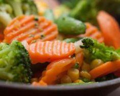 Brocolis, carottes et maïs sautés au wok : http://www.fourchette-et-bikini.fr/recettes/recettes-minceur/brocolis-carottes-et-mais-sautes-au-wok.html