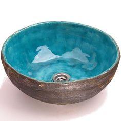 umywalka ukryty błękit w dekornia na DaWanda.com