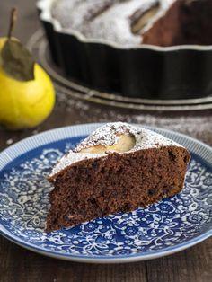 Ciasto czekoladowe z gruszkami   Dr. Oetker: Blog Kulinarny Pani Tereska