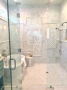 125 best master bathroom shower remodel ideas to try 61 Master Bathroom Shower, Shower Tub, Bathroom Showers, Bath Tub, Bath Room, Bathroom Tubs, Bathroom Cabinets, Houzz Bathroom, Restroom Cabinets