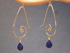 Hey, I found this really awesome Etsy listing at https://www.etsy.com/listing/115256796/hammered-drop-swirl-earrings-with