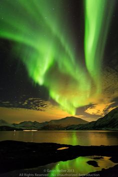 Northern Lights, Troms region, Norway