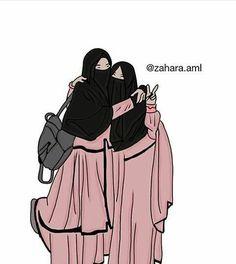 Read SAHABAT from the story Gambar muslimah by susiyanadesu (susi yana) with reads. Best Friends Cartoon, Friend Cartoon, Friend Anime, Art Friend, Couple Cartoon, Cartoon Girl Images, Cartoon Pics, Cartoon Art, Muslim Images
