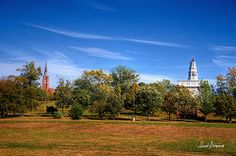 Featured Art - Nauvoo Temple V  by David Simpson
