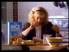 Rice krispies Treats commercial! Similar to the PBS video, this brand shows emotional appeal. Maybe instead of buying this brand for enjoyment of the taste, you buy it because it reminds you of the times you had with a family member. In this case the mother and family dinners