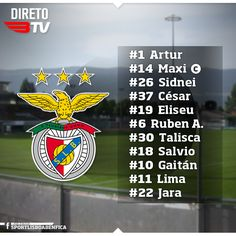 SPORTS And More: #Portugal #SLBenfica lineup vs #Sion #Swiss