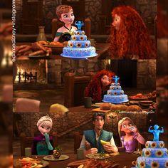 #frozen #elsa #anna #Arendelle #Olaf #hans #tangled #eugene #rapunzel #punzie #gothel #hair #longhair #disney #mickey #magic #frangled #kristoff #disneyedits #edits