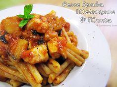 Pasta al pesce spada, melanzane & menta | Gastronomy Love
