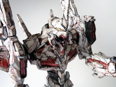 Wanted to do a perfect grade unicorn gundam but also wanted to do a perfect grade Evagelion 01. I got really confused and just did both at the same time...
