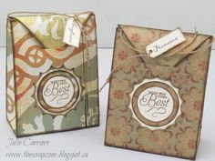 Gift Bag CTMH Artiste Cricut cartridge p.77