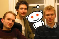 Steve, Alexis and I from nearly 7 years ago, when reddit was probably about 10,000x smaller than it is now.