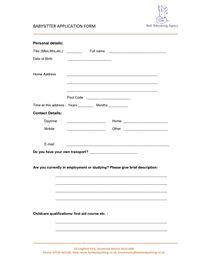 babysitter application template koni polycode co