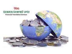Bhasha Bharati, a certified financial translation company provides on-time, highly accurate financial translation services in all commercial languages.