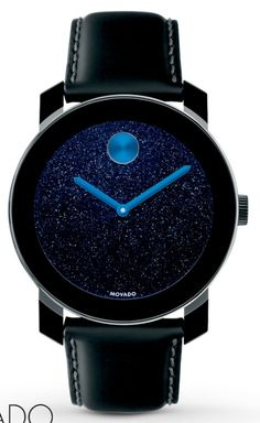 819d5d9a2b2 Movado Bold watch with starry background.  watches  space More Sale! Up to