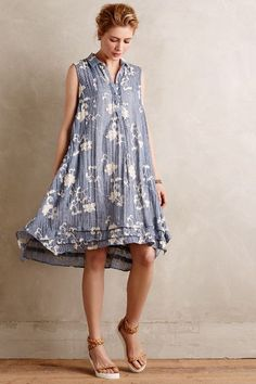 This looks so effortlessly comfy & chic! Tillie Shirtdress - anthropologie.com #anthroregistry