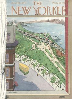 The New Yorker - Saturday, June 10, 1944 - Issue # 1008 - Vol. 20 - N° 17 - Cover by : Christina Malman