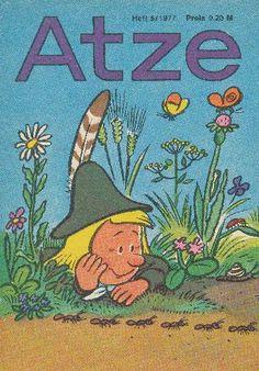 """DDR Museum - Museum: Objektdatenbank - """"Atze"""" Heft 5/1977    Copyright: DDR Museum, Berlin. Eine kommerzielle Nutzung des Bildes ist nicht erlaubt, but feel free to repin it!"""