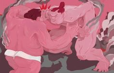 Sumo Canvas Print by HELLLOJOJO | Society6