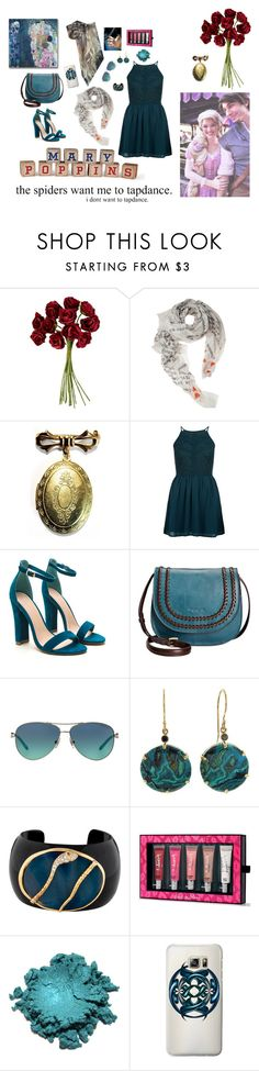 """""""Just a small girl"""" by theater-potter-dance-warriors ❤ liked on Polyvore featuring Disney, John Lewis, Faliero Sarti, New Look, Tignanello, Tiffany & Co., Jamie Joseph, Isharya, Beauty Rush and Casetify"""