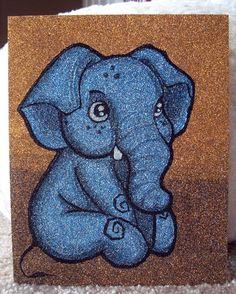 Baby Elephant art...