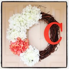 Another pretty spring wreath