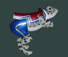 Rare Ca. 1910 Herschell-Spillman Frog