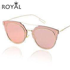 2015 nova moda óculos de sol mulheres marca Designer Sun óculos redondos óculos de metal ss368 em Óculos Escuros de Roupas e Acessórios no AliExpress.com   Alibaba Group