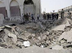 Bagdá continua sendo atacada por bombardeios  (© Ali Al-Saadi/Getty Images)